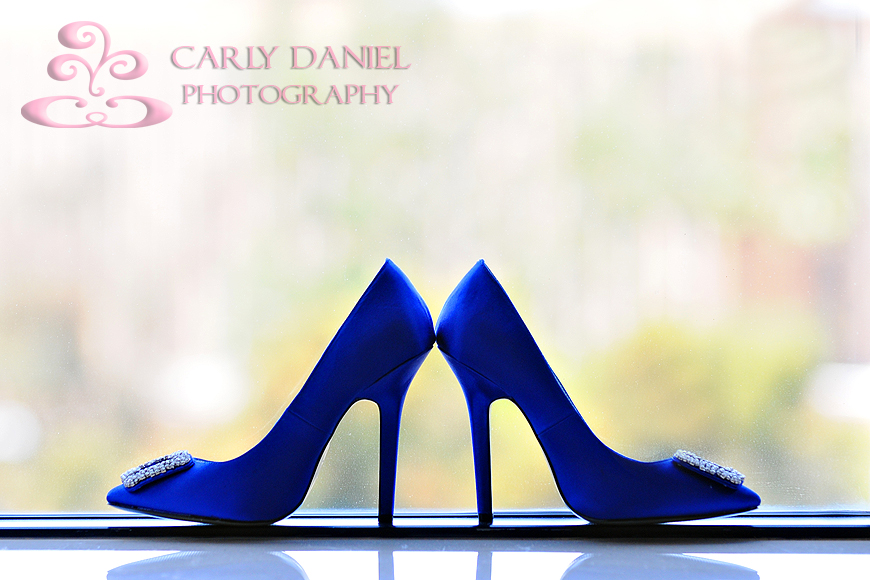 Every bride needs a good pair of dancing shoes right blue wedding shoes