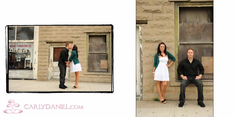 Huntington Beach engagement photos