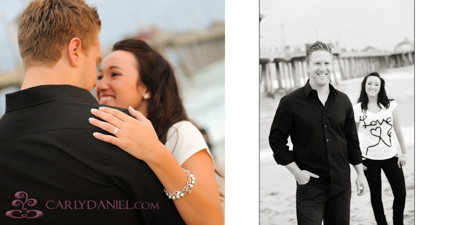 engagement photos Huntington Beach
