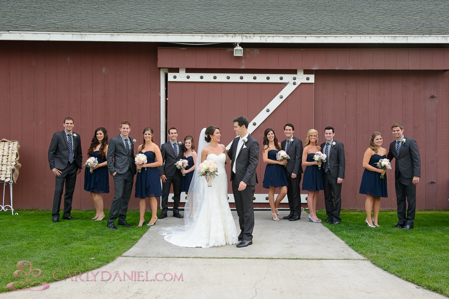 Orange County barn wedding