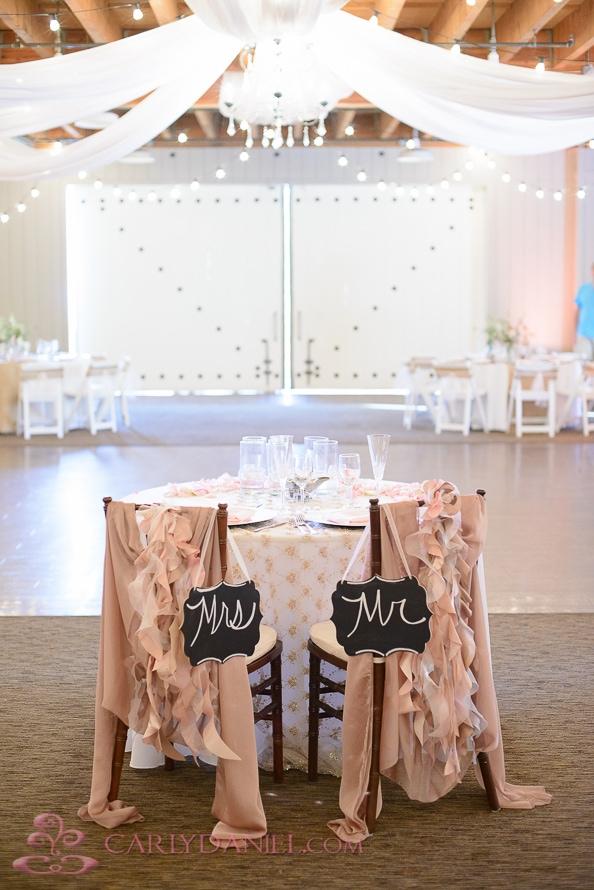 shabby chic wedding decor