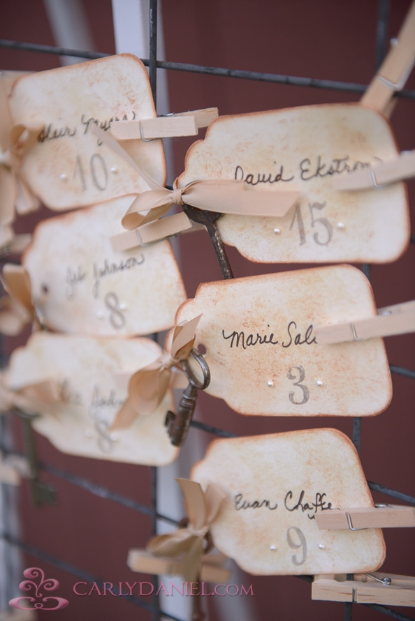 creative escort cards