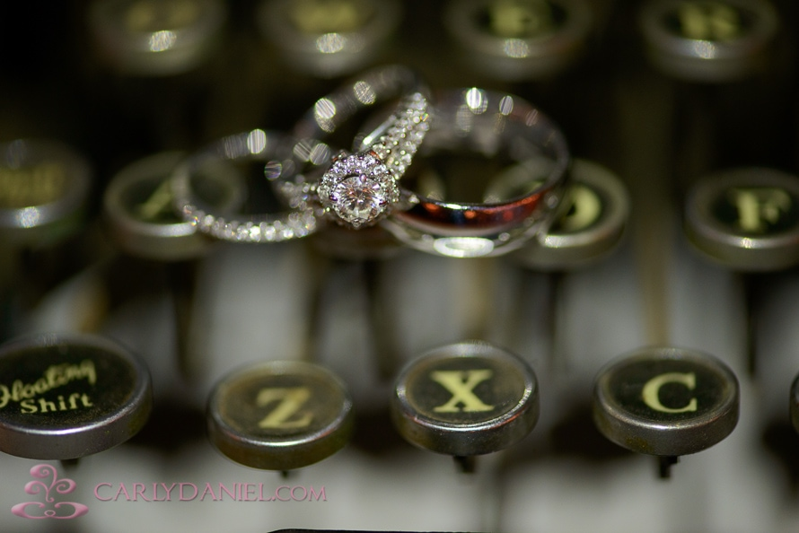 closeup ring shot