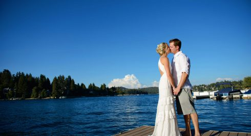 Lake Arrowhead wedding photos