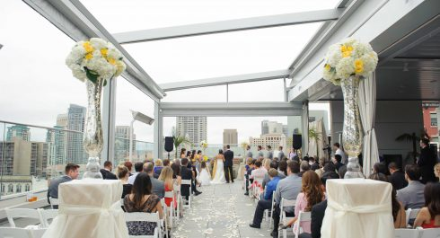 Andaz San Diego wedding