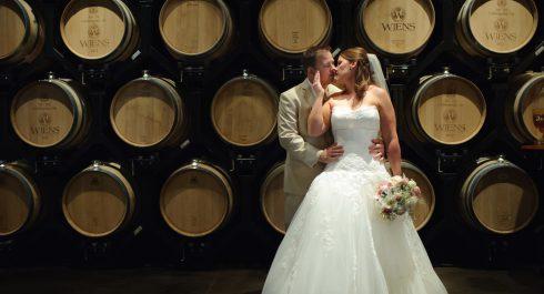 Weins Family Cellars wedding