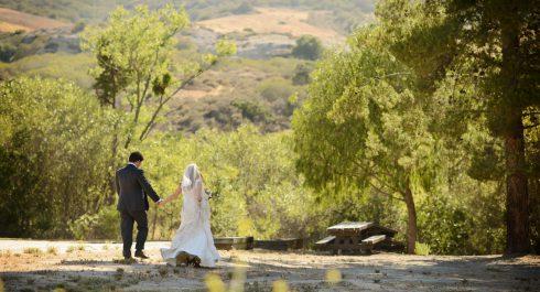 Bommer Canyon wedding photos
