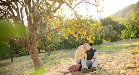 Santiago Oaks Regional Park engagement session
