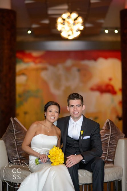 Andaz downtown San Diego wedding