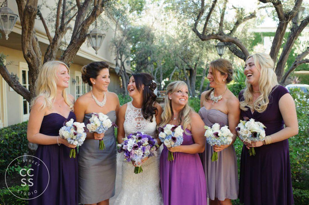 fun bridesmaid photo