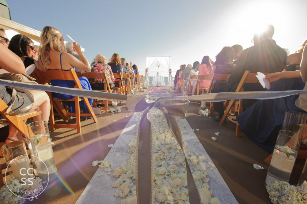 Surf and Sand wedding ceremony