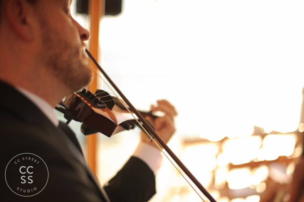 Tim Espinoza electric violin