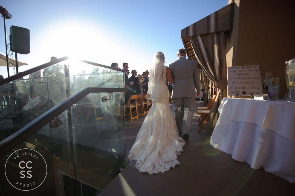 surf and sand resort wedding