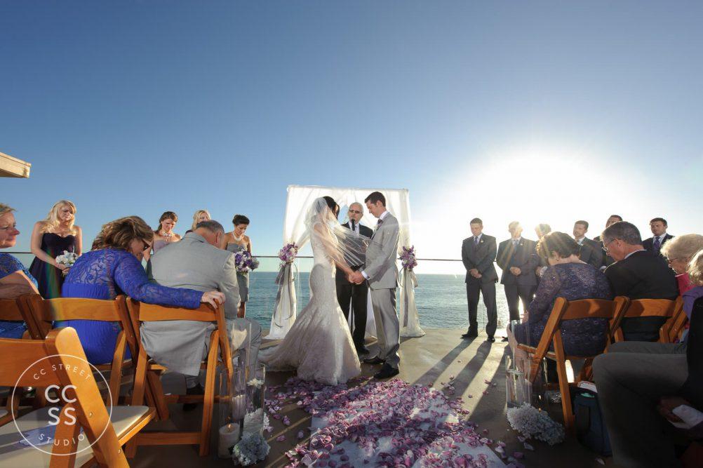 surf and sand wedding photos