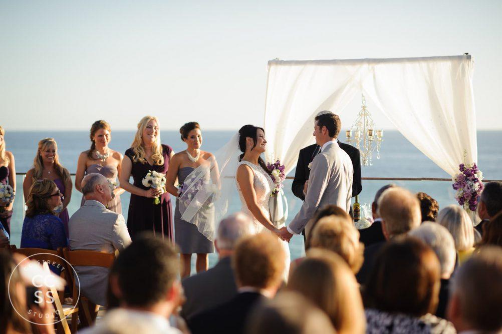 surf and sand resort wedding photos