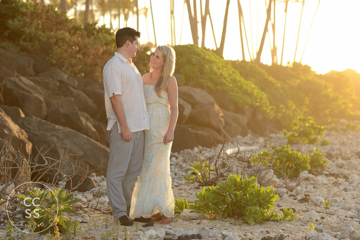 Hilton Waikoloa Village engagement photos