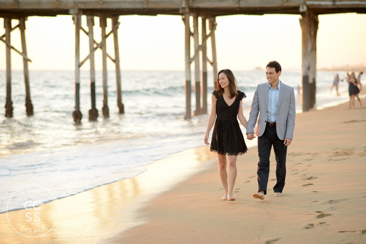 balboa pier wedding