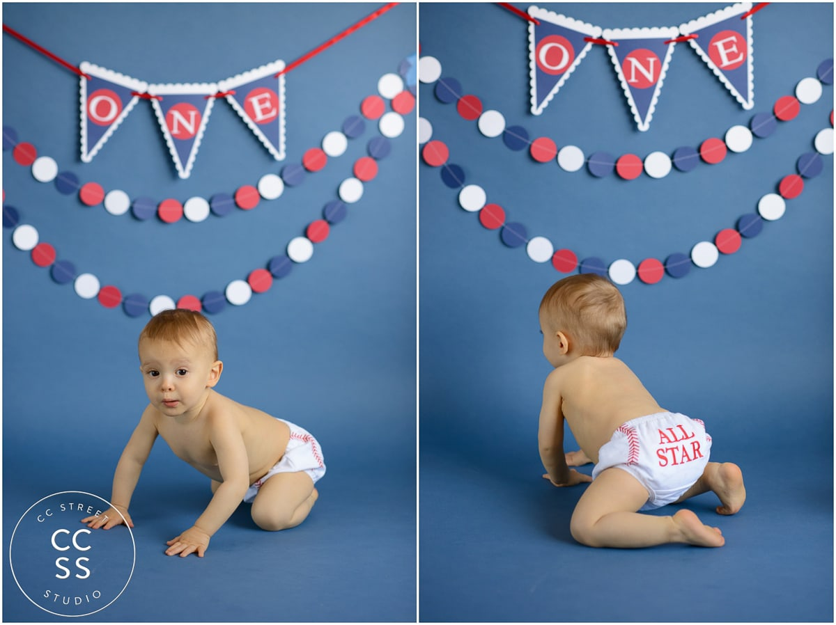 1 Year Old Cake Smash Photos Fountain Valley Baby