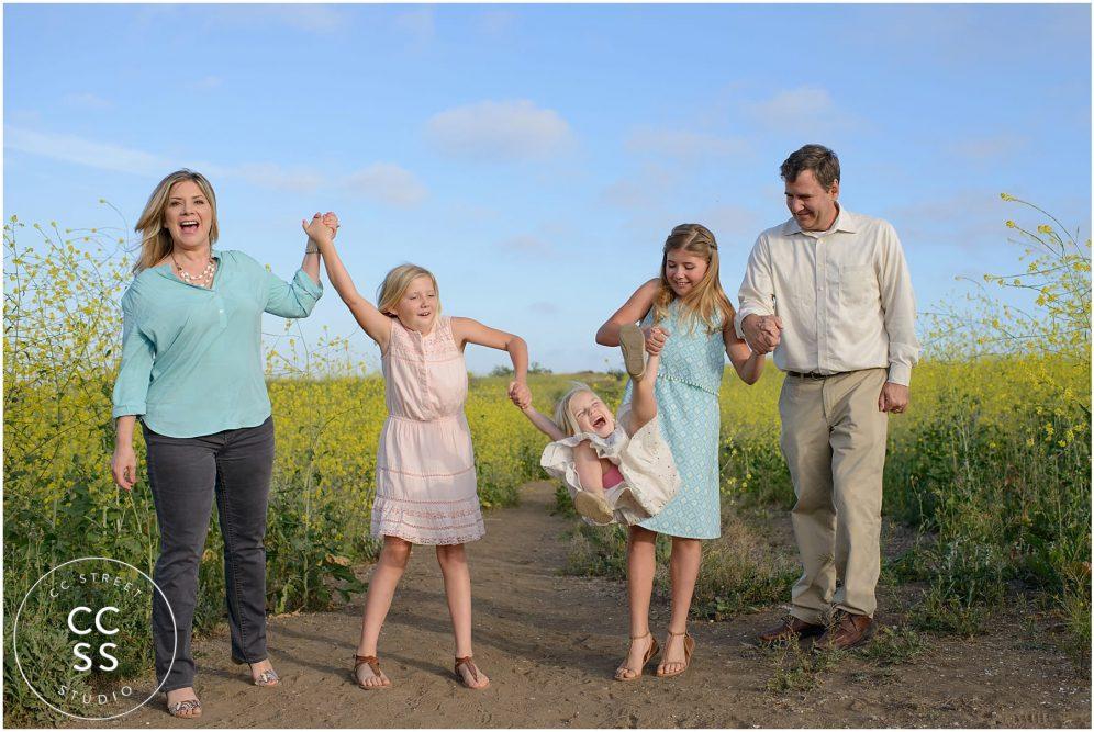 family photographer central park huntington beach