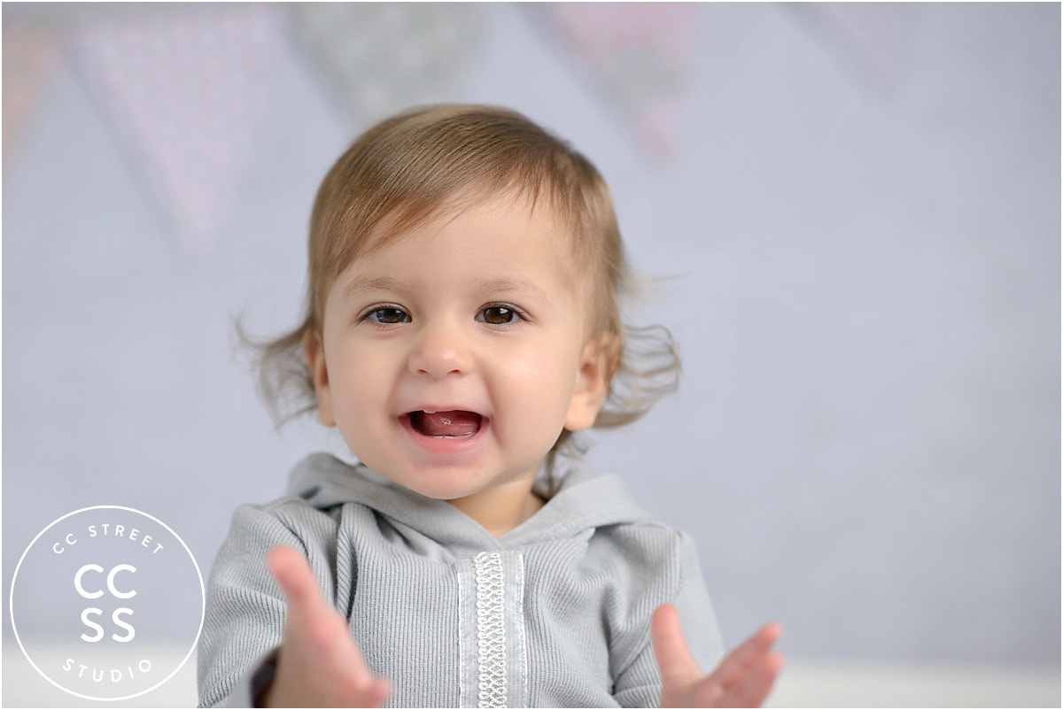 photo session of 1 year old