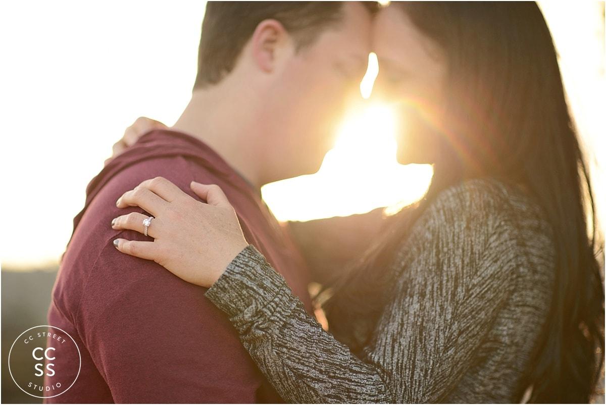 sunflare-engagement-photo